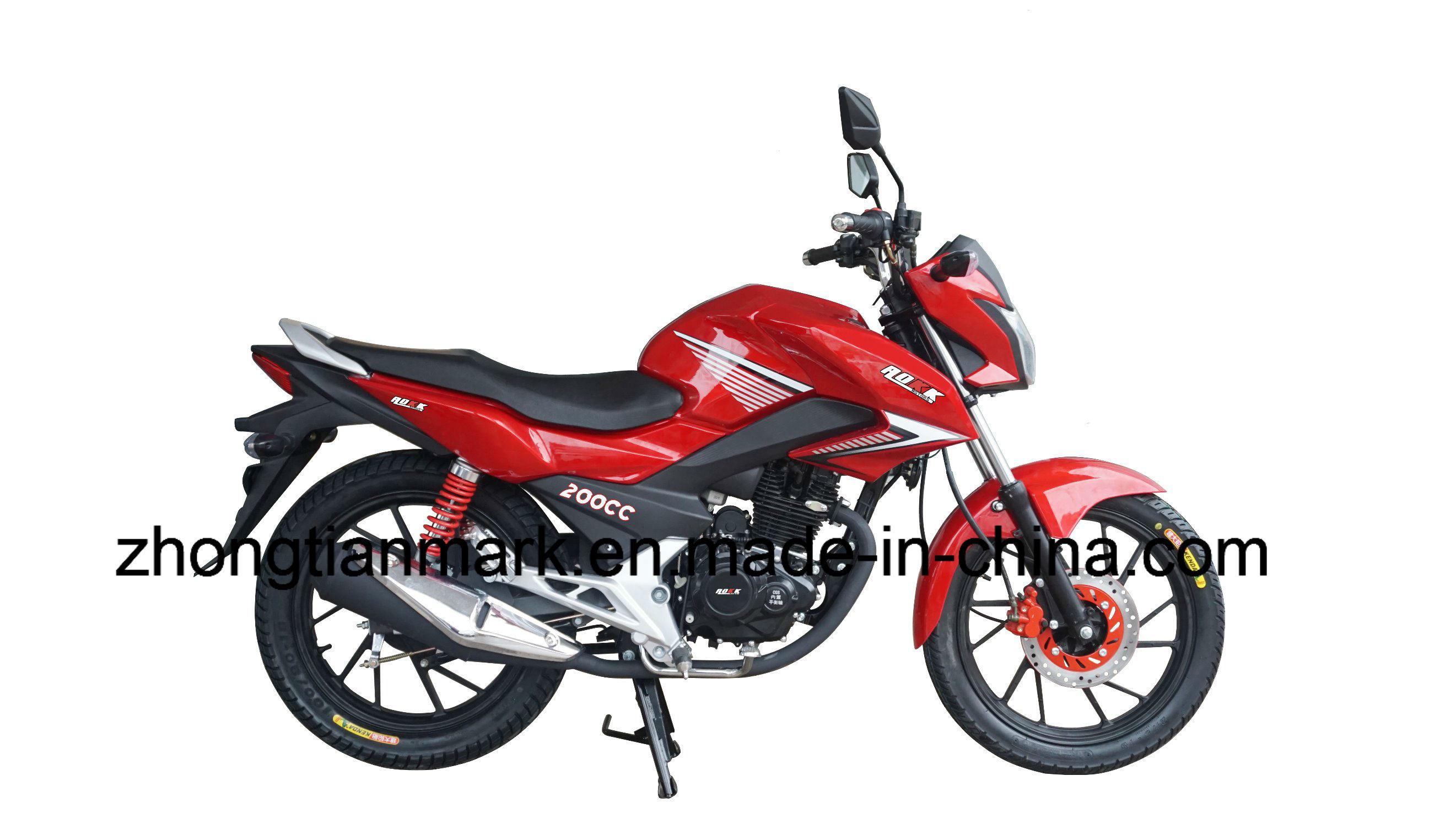 China Hongda Model Street Motorcycle Good Design