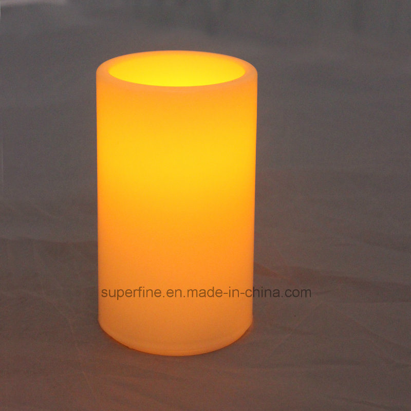 Plastic Battery Operated Flickering LED Candles for Christmas