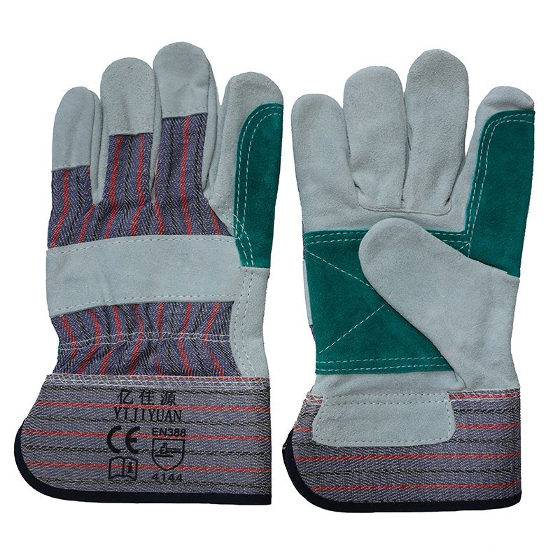 Cut Resistant Leather Safety Workers Working Gloves pictures & photos