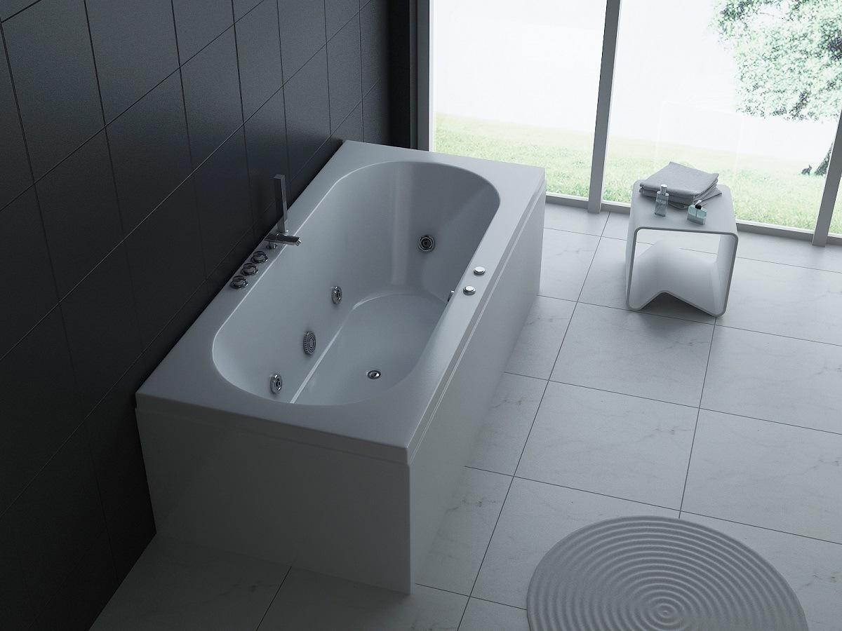 China Massage Whirlpool Bathtub, Jacuzzi Hot Tub (MT-RT1902) - China ...