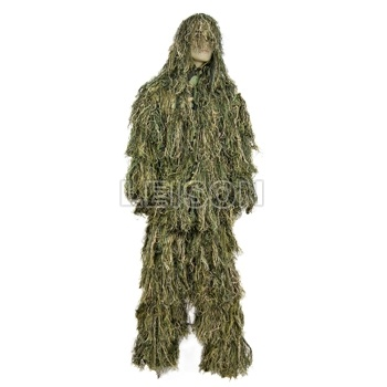 Military Camouflage Ghillie Suit of Superior Fabric