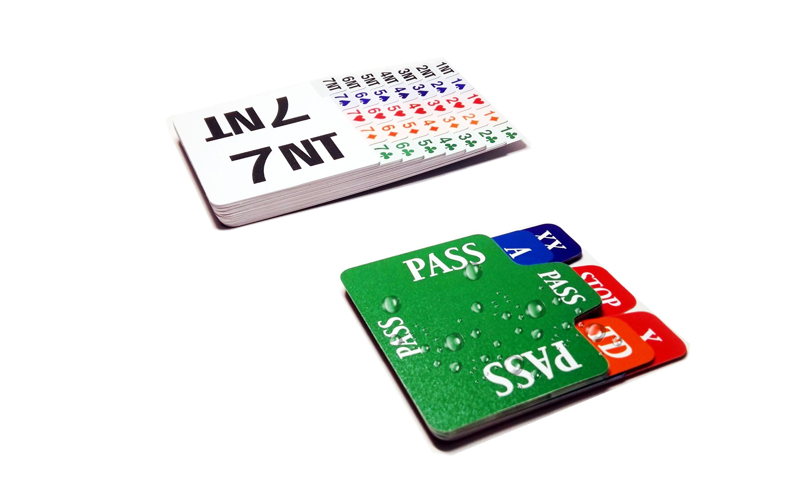 [Hot Item] Waterproof Plastic Filling Card for Bridge Bidding Box