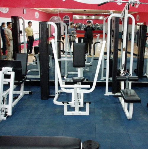 Gymnasiums Flooring Rubber Tile with En1171
