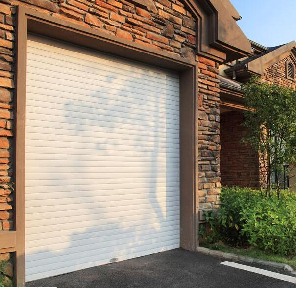 China Electric PU Foamed Ce Approved High Quality Wholesale Automatic Garage  Doors Panels Prices With Pedestrian Doors And Aluminum Accessories   China  ...
