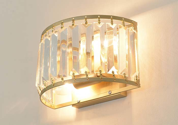 Luxury Post Modern Crystal Sconce Wall