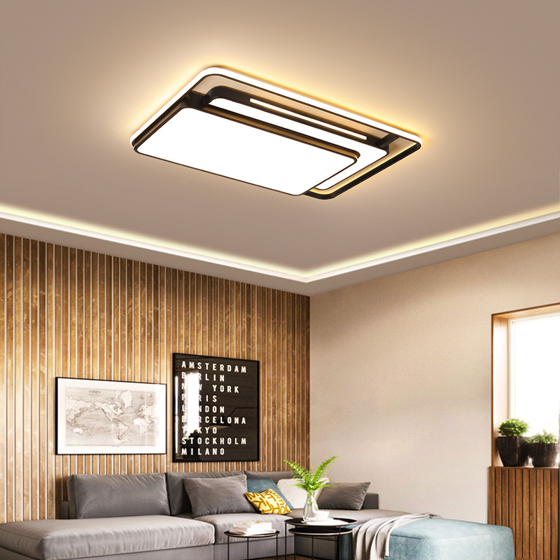 Lanterns Household Ceiling Lamp, Contemporary Living Room Ceiling Lights