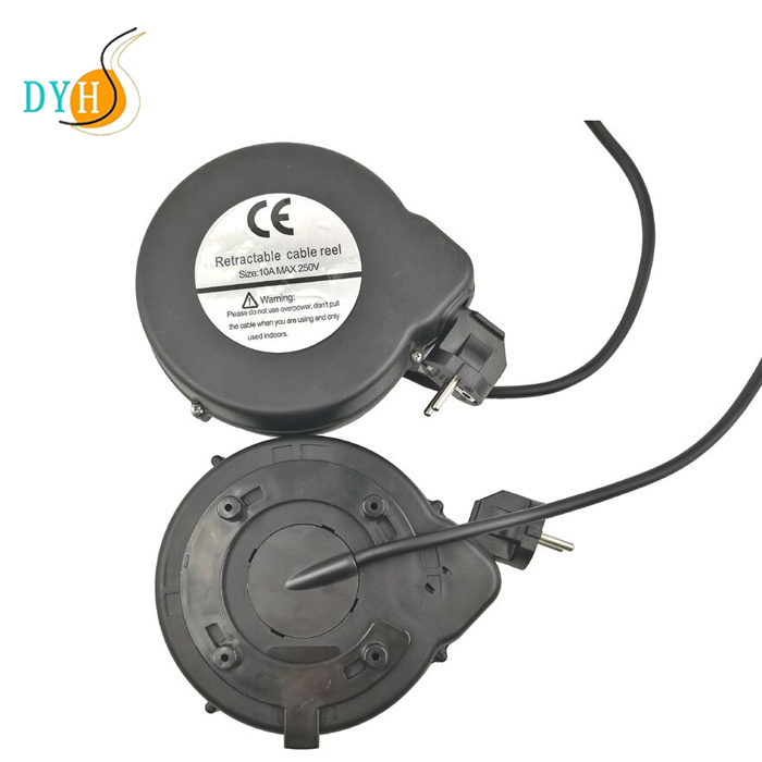 China Spring Driven Retractable Power Cable Reel Extension