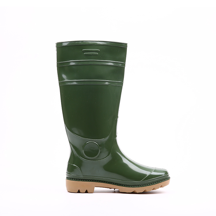 Steel Toe PVC Shoes Safety Rain Boots