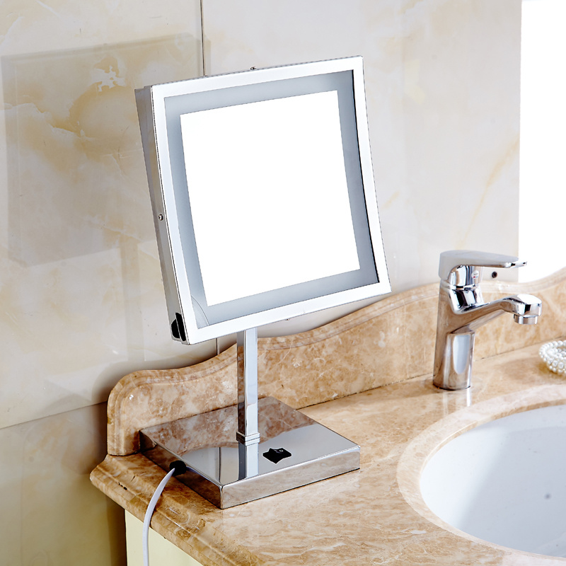 Freestanding Bathroom Mirror Led Light