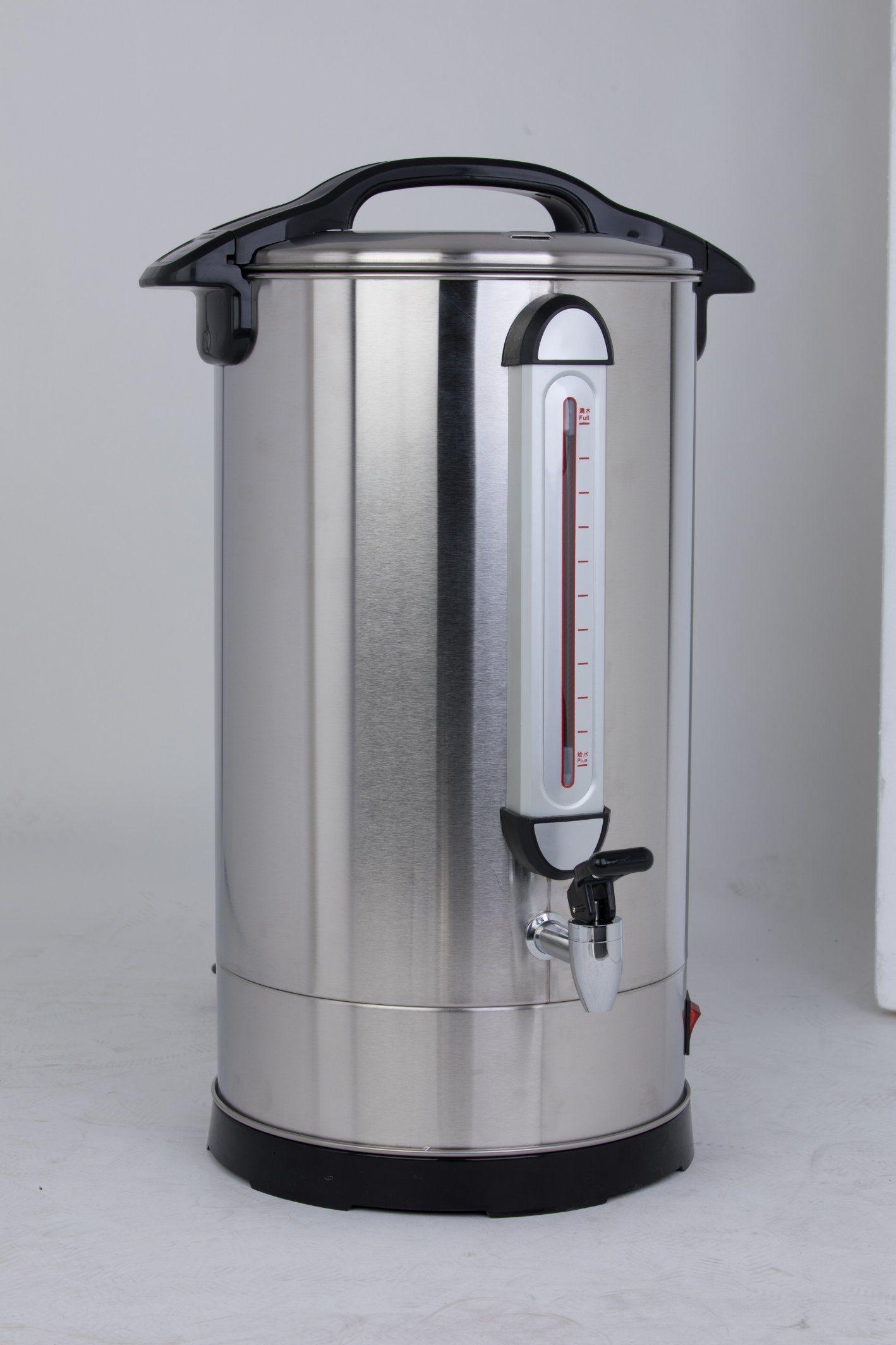 Hot Item Stainless Steel Electric Water Boiler Urn Tea 6 35 Liter Hotel Restaurant Equipment Dispenser