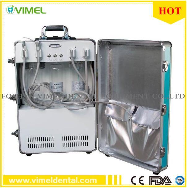 Dental Portable Unit Air Compressor with 3-Way Syringe Saliva Ejector pictures & photos