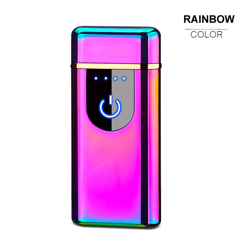 Fashion USB Metal Double Arc Lighter pictures & photos