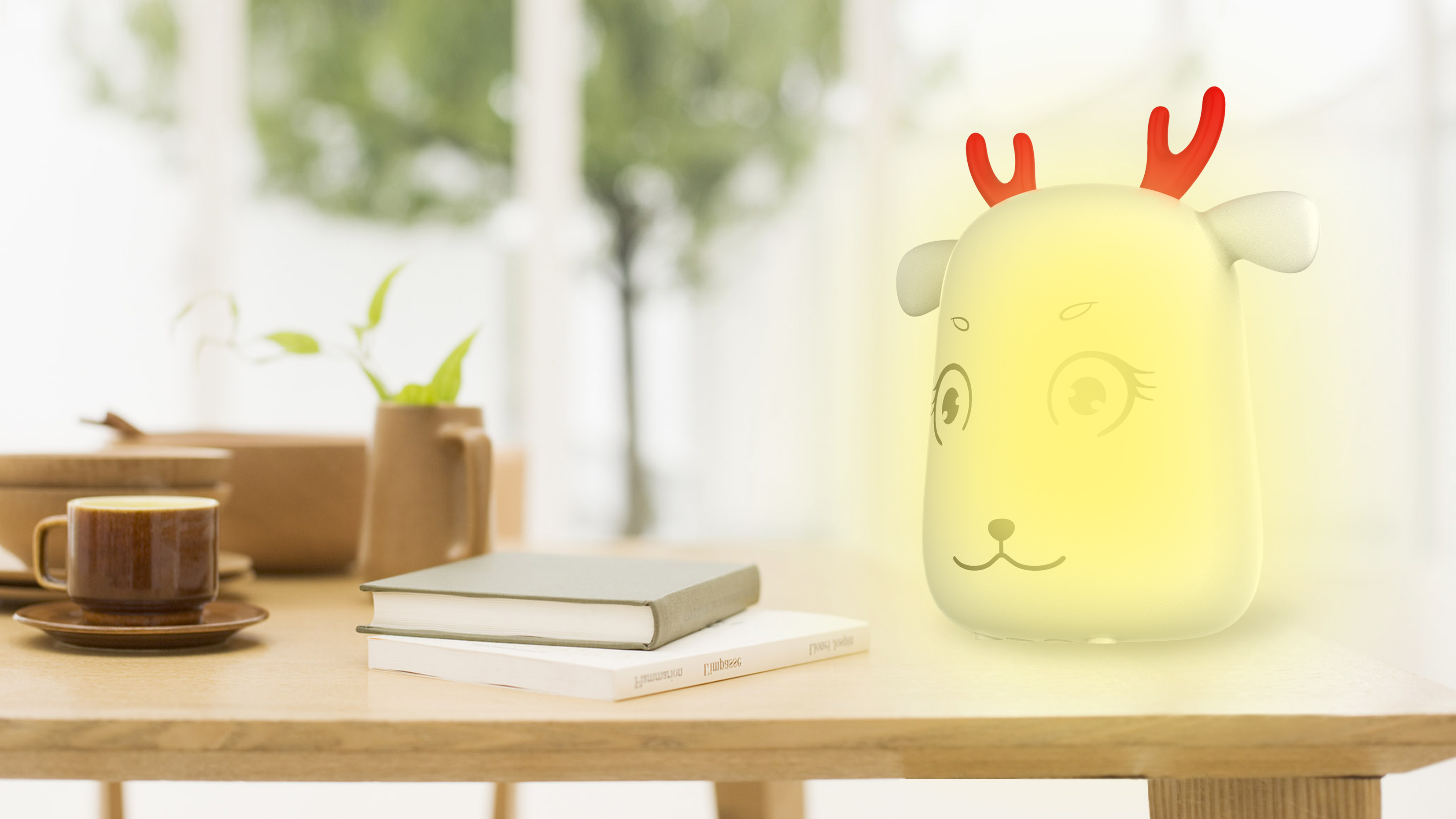 Cute Cartoon Silicon Rechargeable Led
