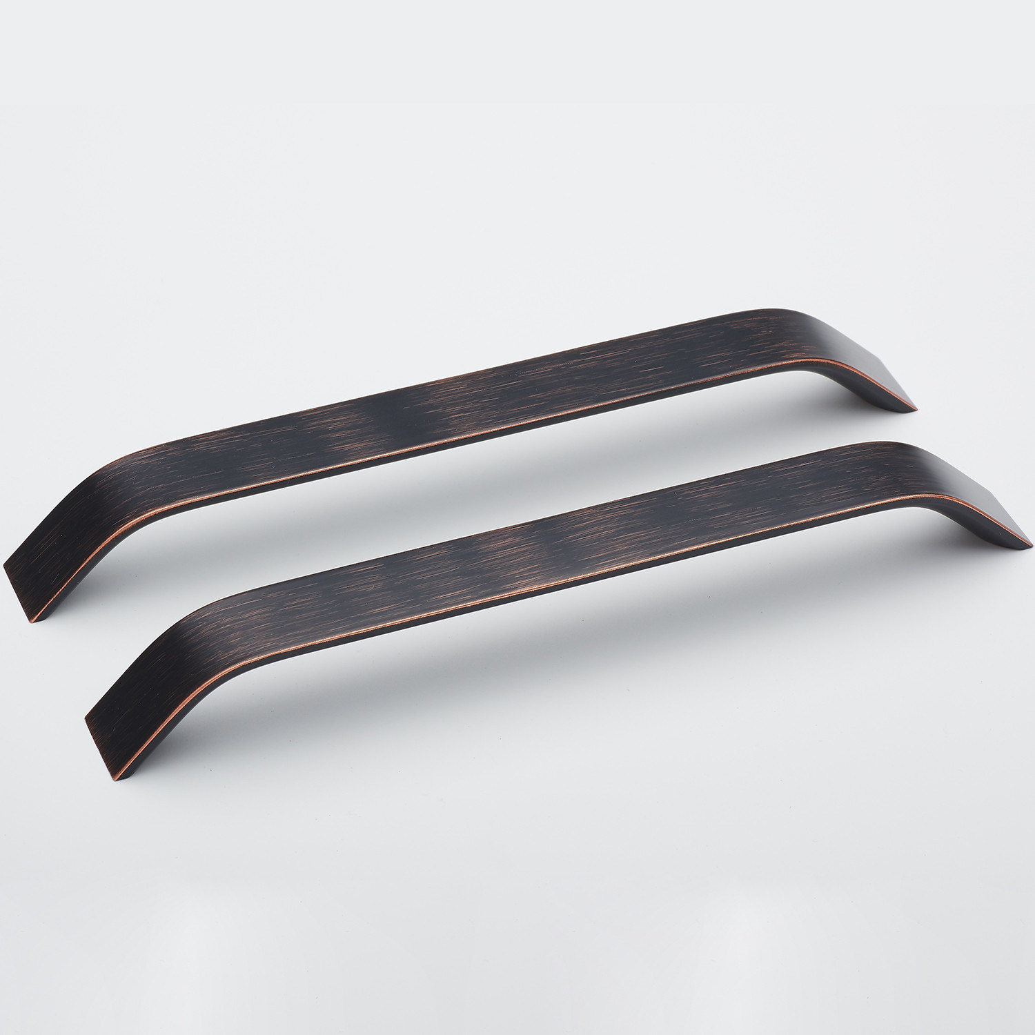ALUMINIUM PROFILE KITCHEN CABINET DOOR HANDLE DRAWER PULL BLACK OR STAINLESS
