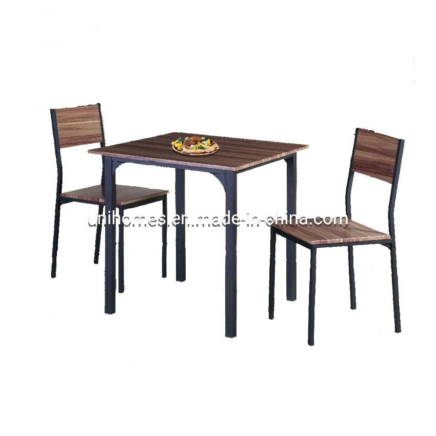 3 Piece Wooden Kitchen Dining Room Square Table And Chairs Set China Metal Dining Table Modern Dining Table And Chairs Made In China Com