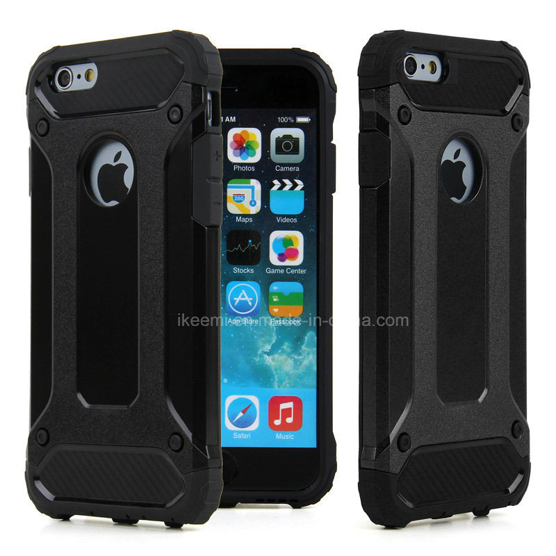 innovative design 0157f 6249b [Hot Item] Wholesale Mobile Phone Accessories Spigen Tough Armor Mobile  Cell Phone Case for iPhone 4 5 6 Plus, Hybrid Shockproof Plastic iPhone and  ...