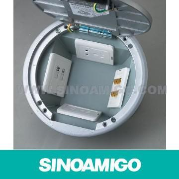 Access Floor Power Outlet Round Floor Box pictures & photos