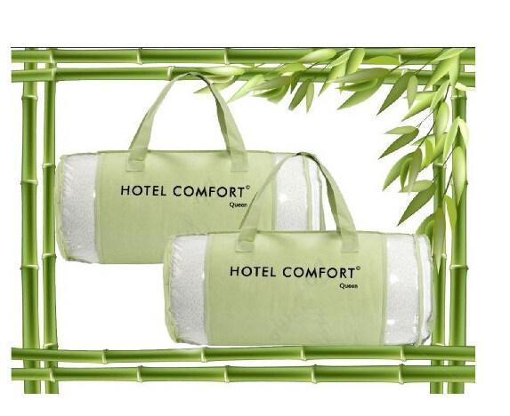 China Hotel Comfort Bamboo Covered Memory Foam Pillow Queen Set Impressive Hotel Comfort Bamboo Covered Memory Foam Pillow
