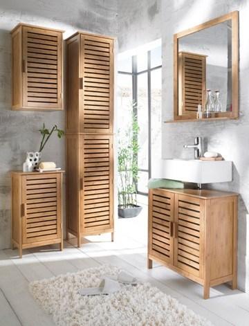 China Bamboo Bathroom Furniture