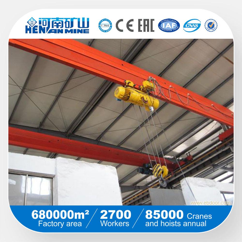 China Henan Mine Brand Single Beam Overhead Eot Hoist Crane
