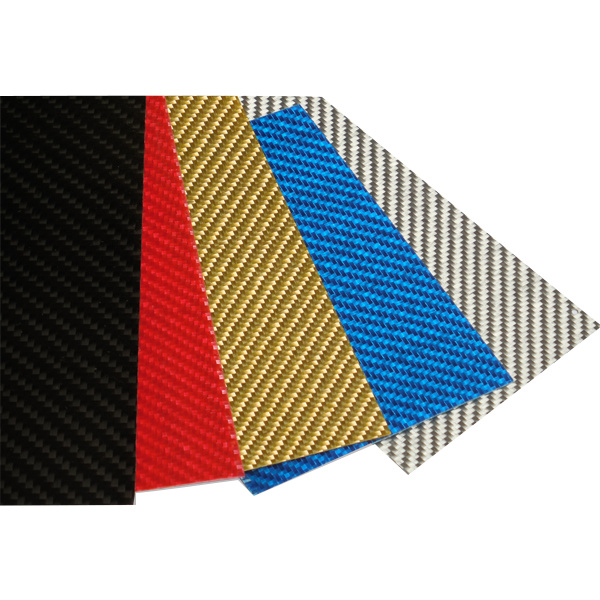 [Hot Item] 3K Color Carbon Fiber Plate Panel Sheet Black/Green/Red/Silver  for Knife Handle