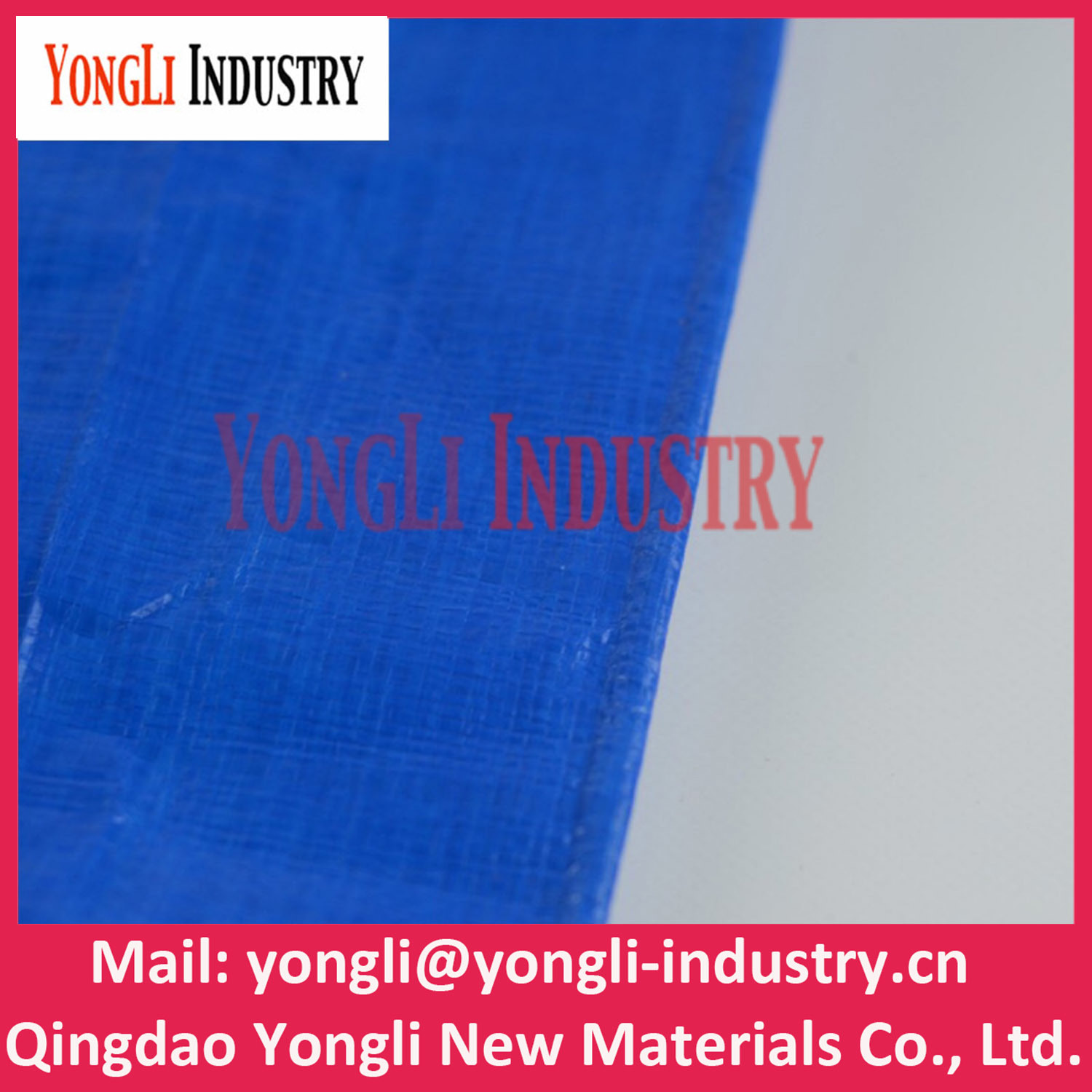 Waterproof PE Tarpaulin for Industry Cover
