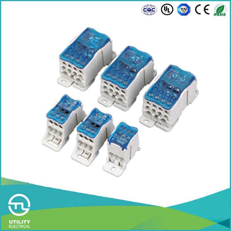 China Utl 160A High-Current DIN Rail Wire Terminal Block Photos ...