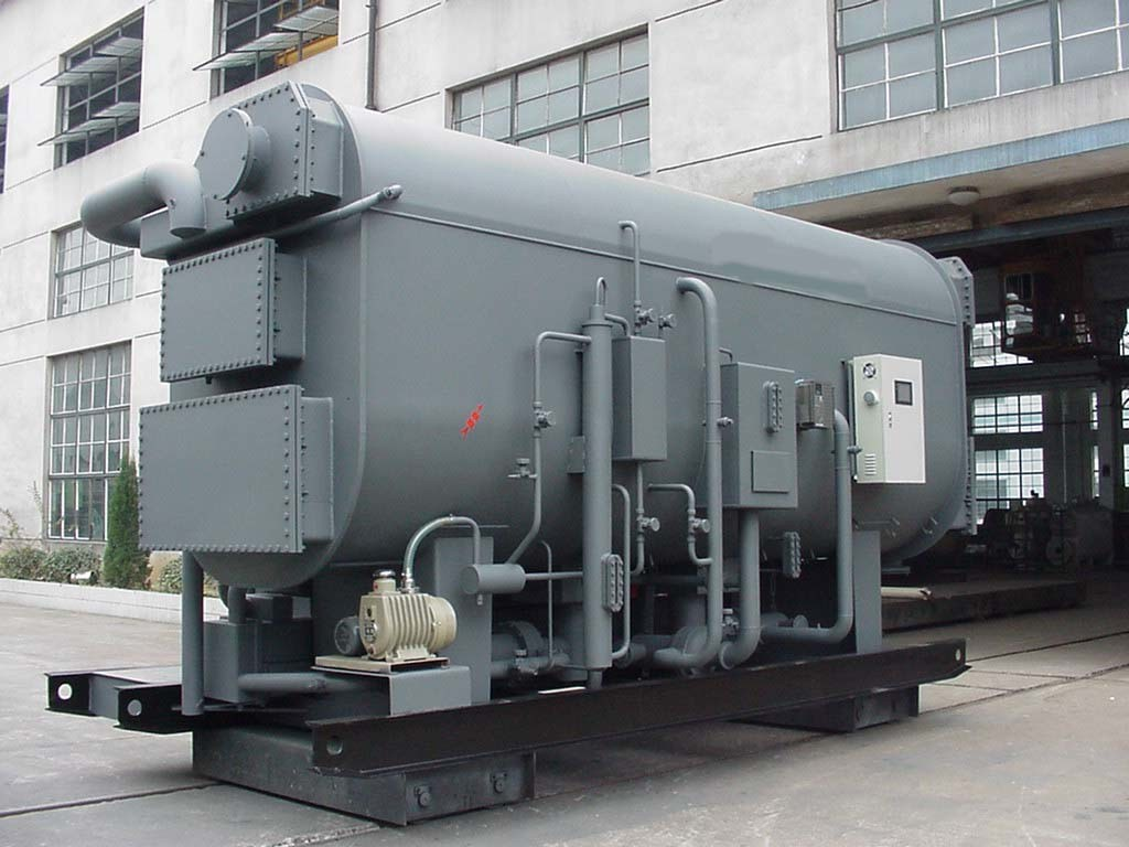 Steam-Operated Single Effect Absorption Chiller