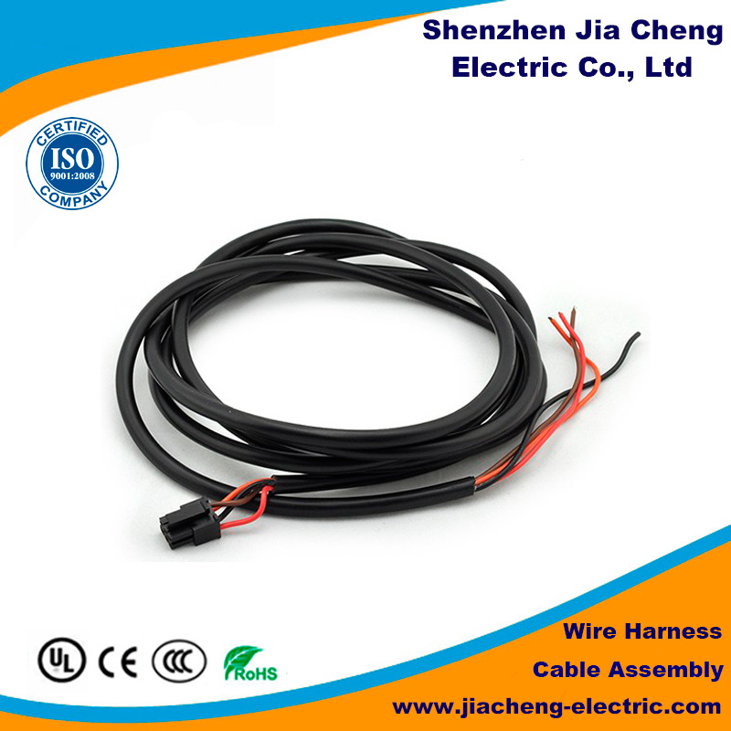 China Cable Assembly Spring Coiled Safety Wire Harness - China ...