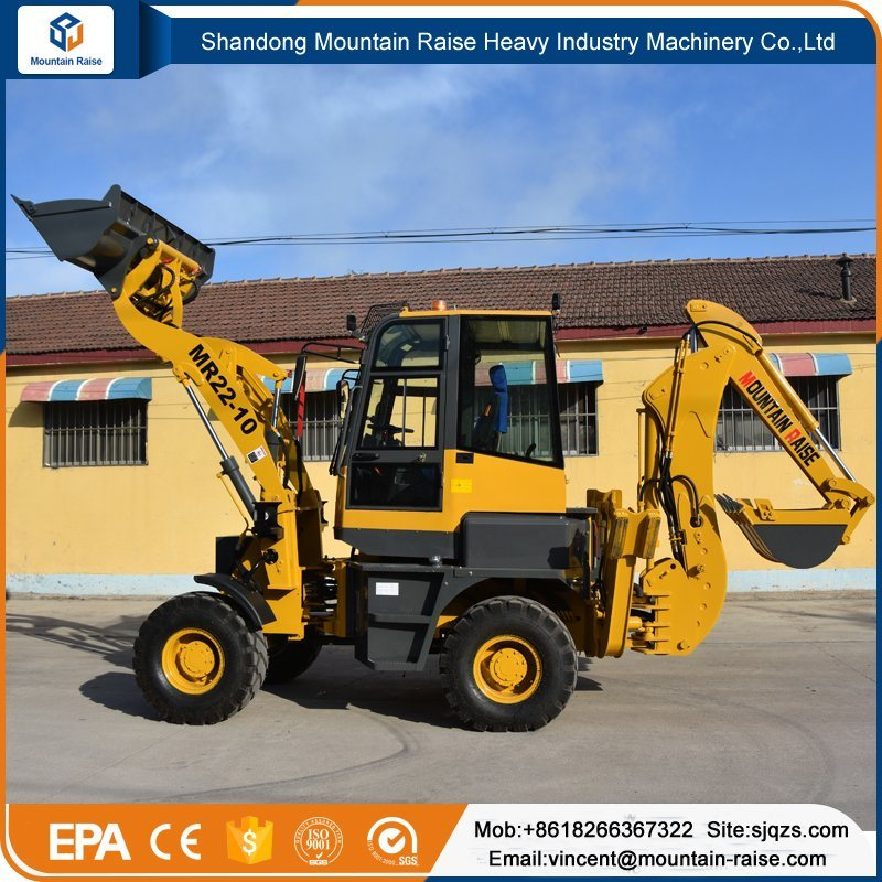 High Quality New Design Compact Small Digger Backhoe Loader pictures & photos