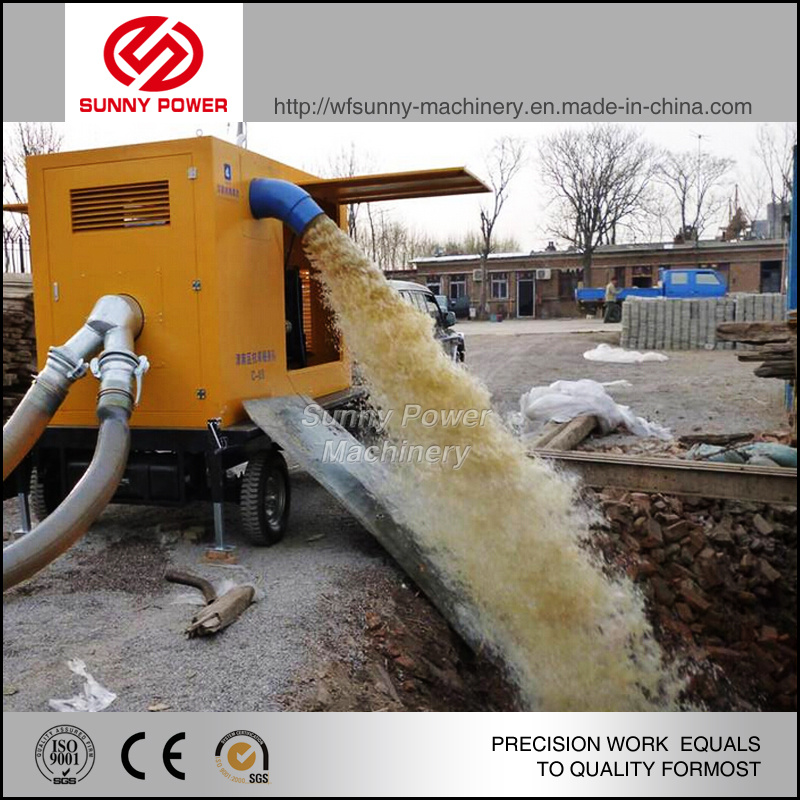 Cummins Diesel Water Pump for Agricultural Irrigation and Mining Machinery
