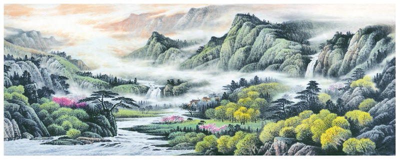 Factory Direct High Quality Landscape Oil Painting, Art Painting, Decoration Painting (Y226)