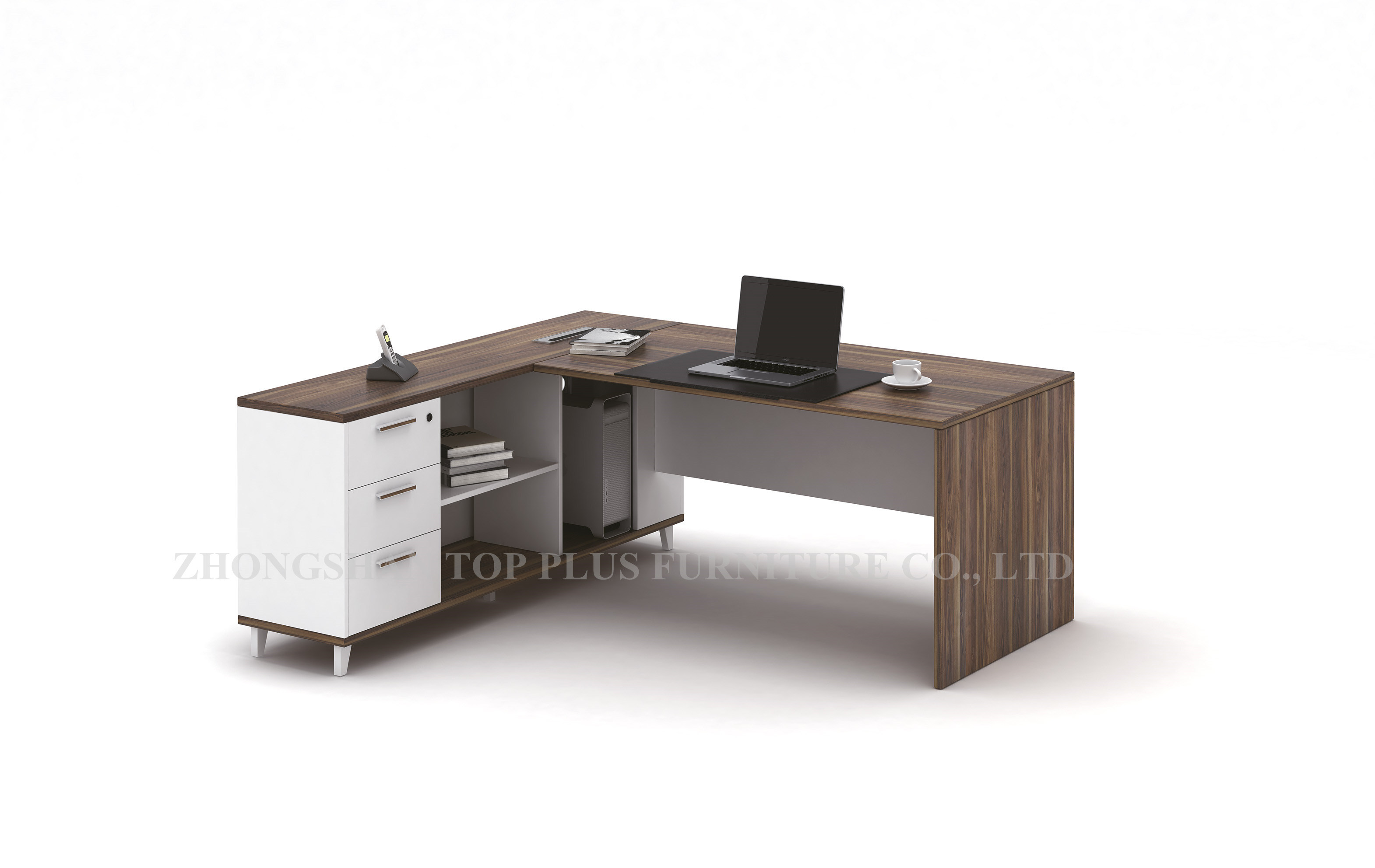 Image of: China New Design Modern Office Desk L Shape Office Table M T1617 China Office Table Wooden Office Table