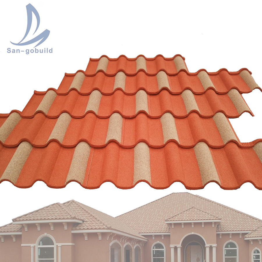 China Lightweight Steel Frame House Roof Covering Materials Dark Grey Stone Coated Metal Roofing Sheets China Stone Coated Roof Tiles In Nigeria Stone Coated Roofing Sheets In India