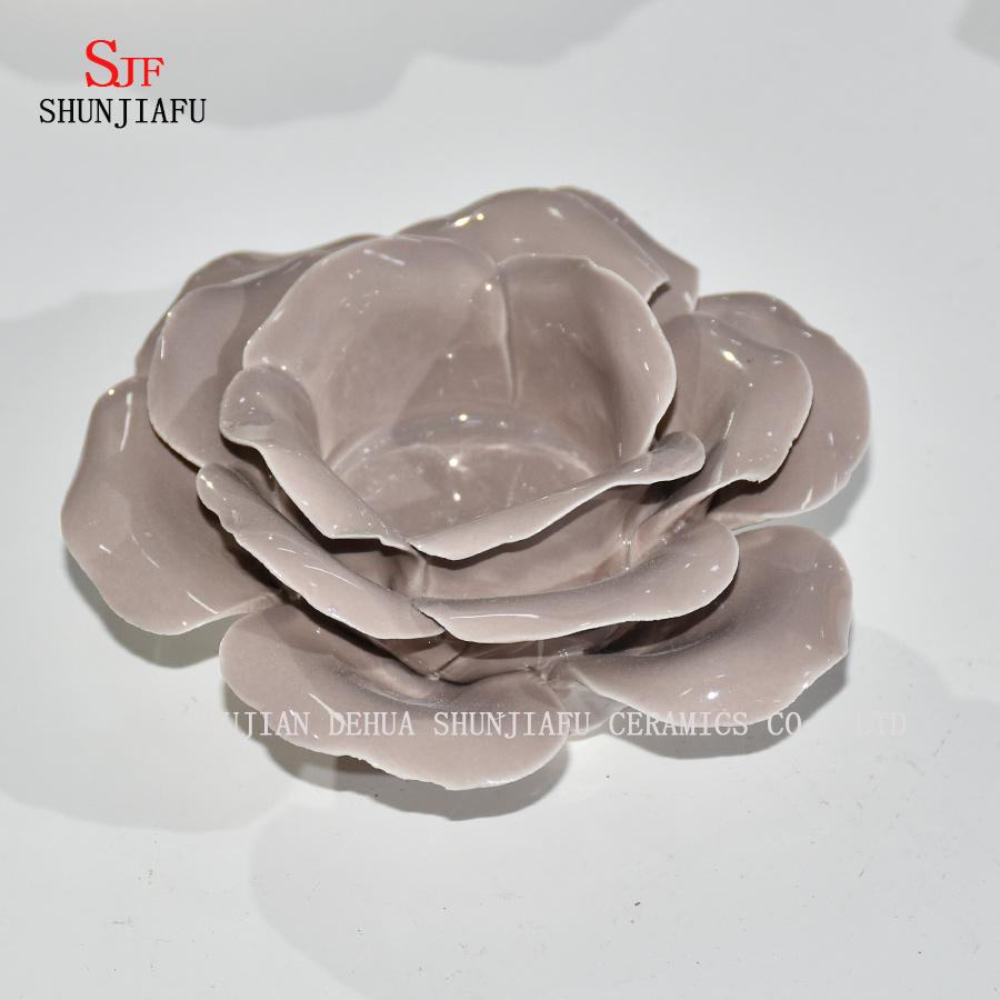 China more color lotus flower shape tealight candle holder ceramic more color lotus flower shape tealight candle holder ceramic candlestick izmirmasajfo