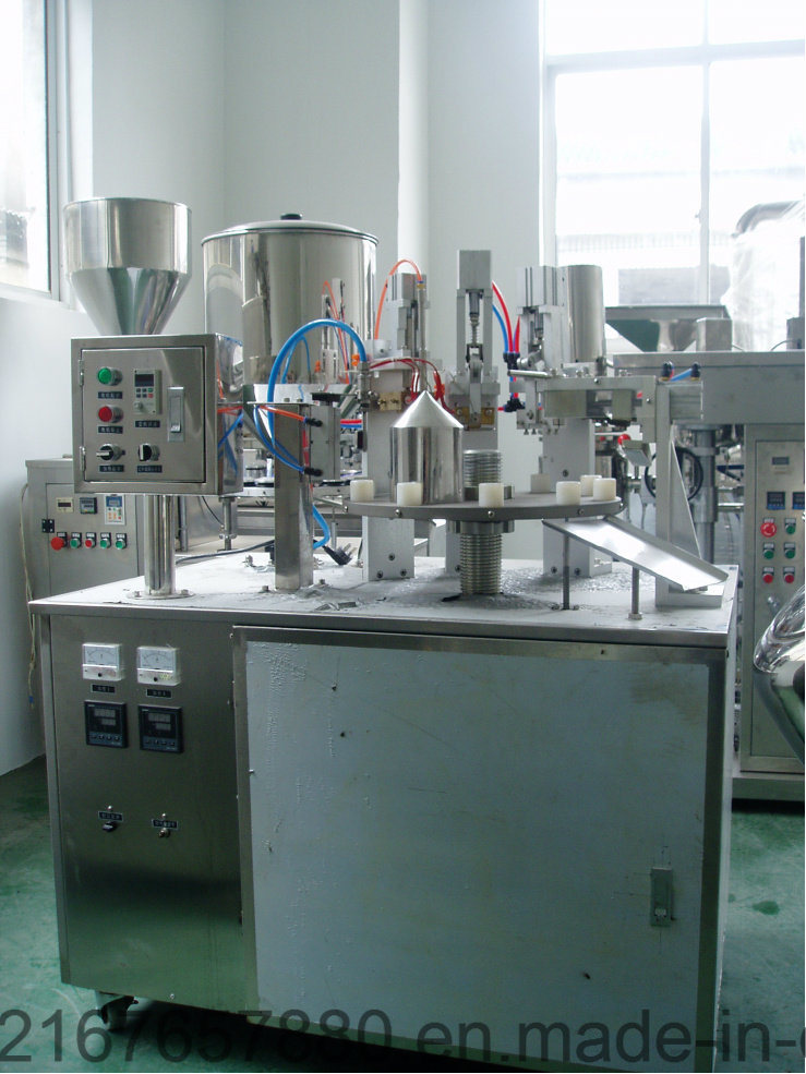 FGF-250 Semi-Automatic Plastic and Laminated Tube Filling and Sealing Machine pictures & photos