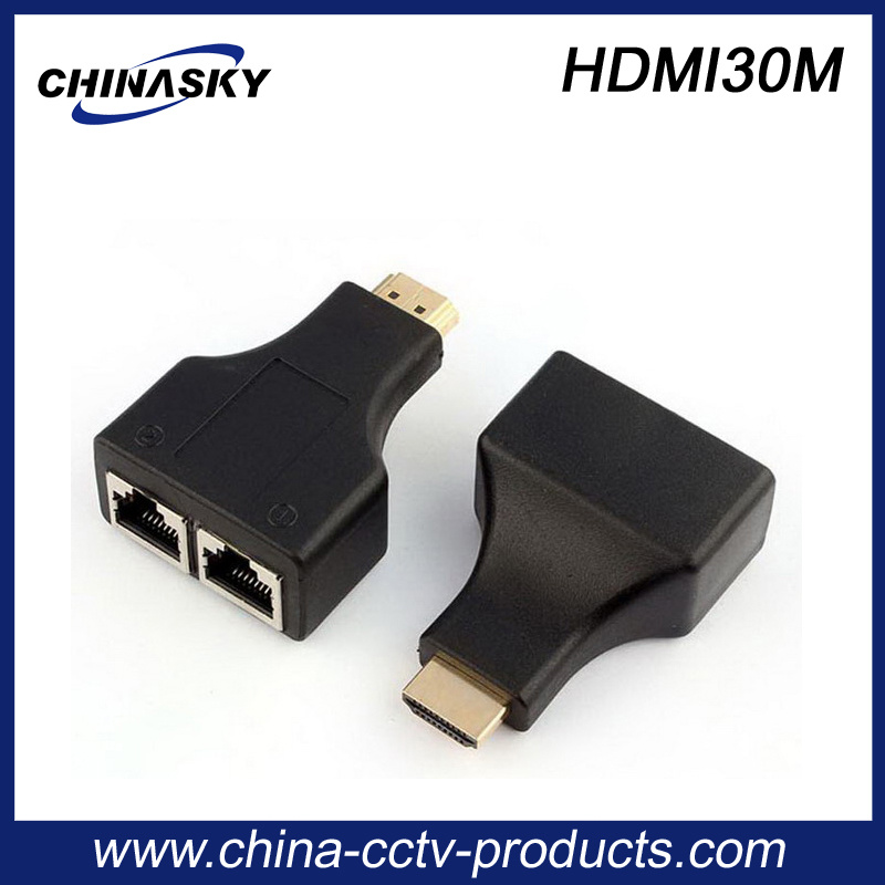 30m 1080P Cat5e/6 HDMI Extender for CCTV System (HDMI30M)