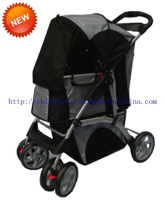 Luxury Pet Products 4 Wheels Outdoor Pet Stroller Bb-PS03 pictures & photos