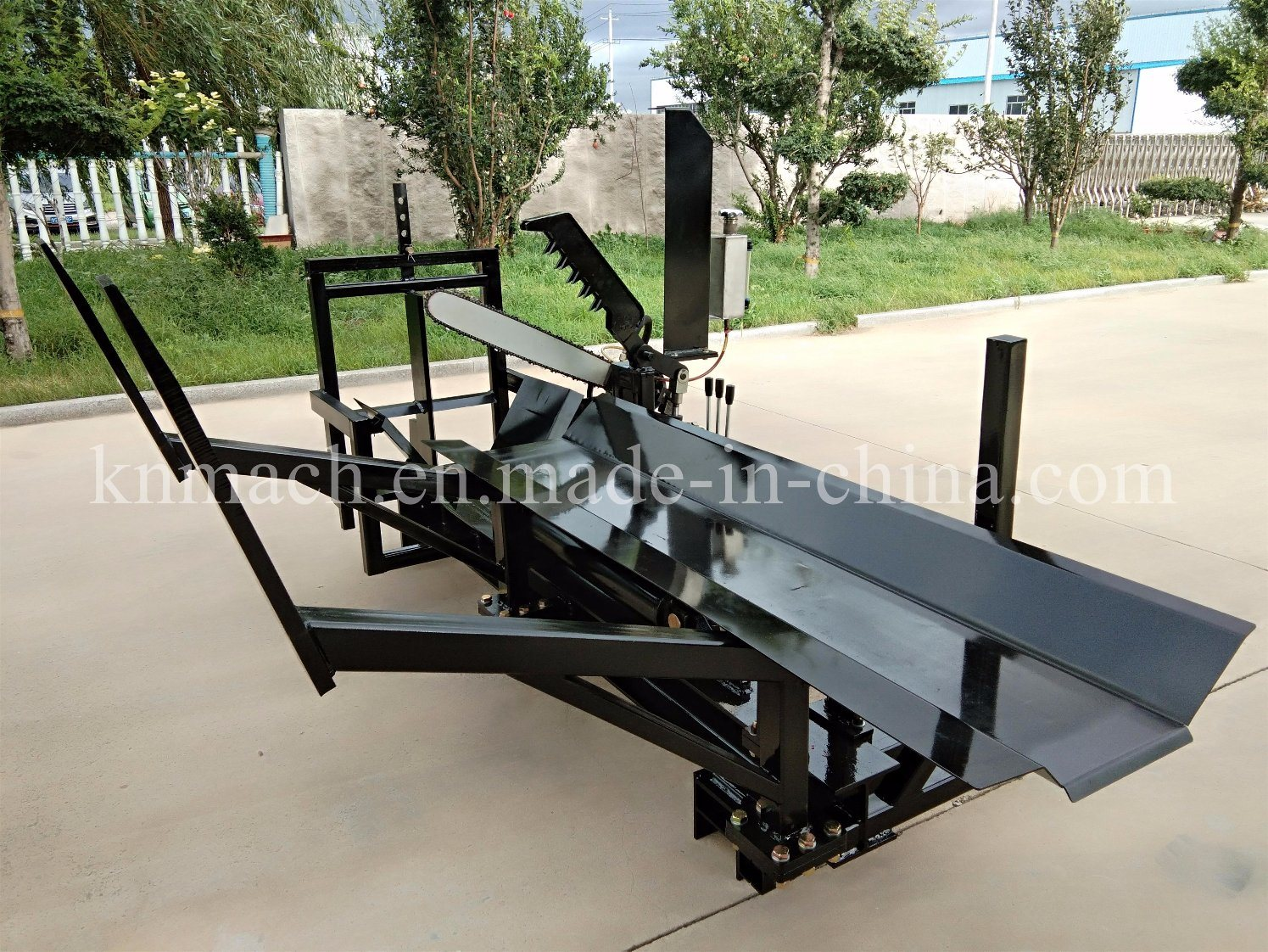 [Hot Item] Tractor Skidsteer Attachment Firewood Processor