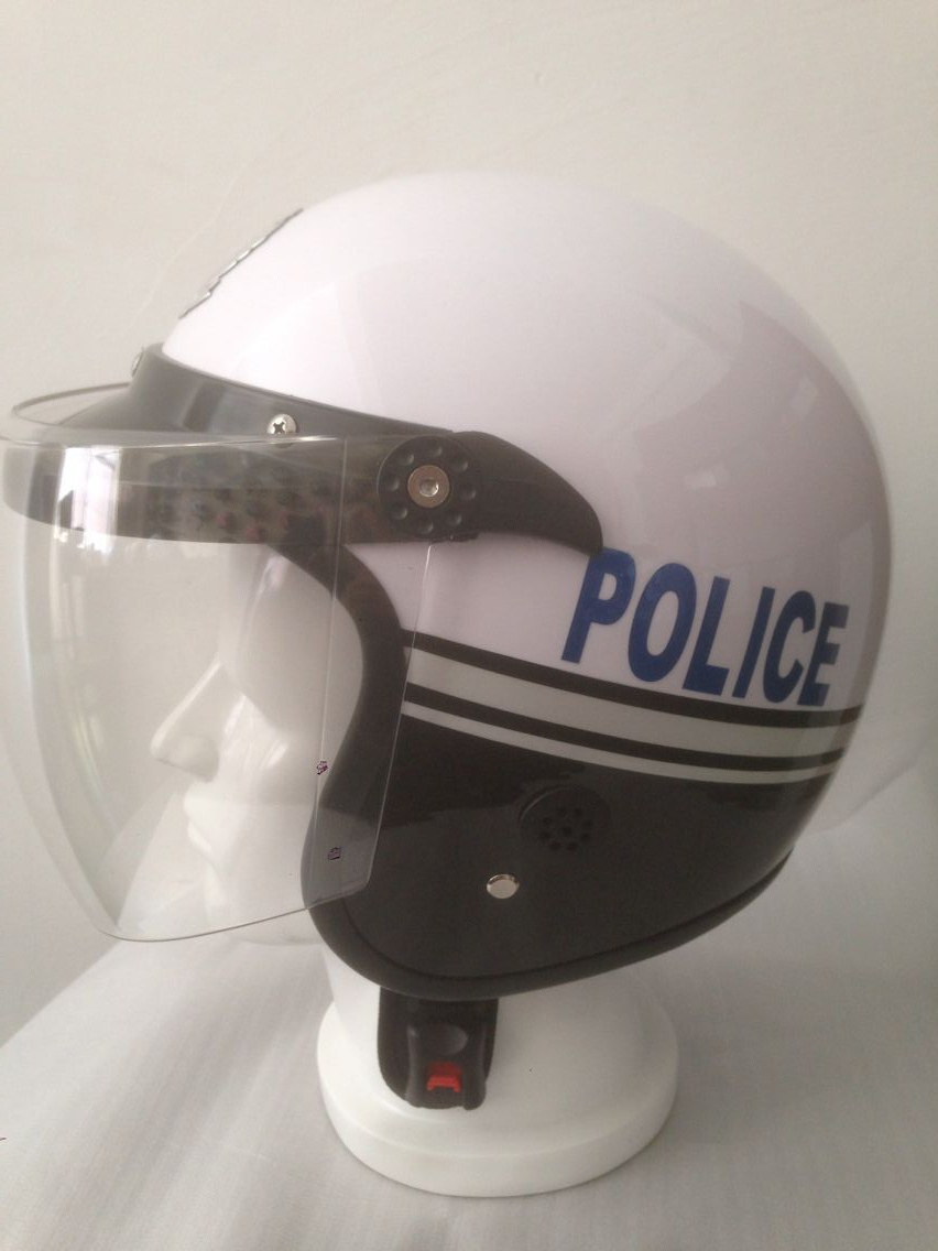 High Quality Hlaf Face Motorcycle Police Helmet From China, ABS, DOT, ECE, Factory Price pictures & photos