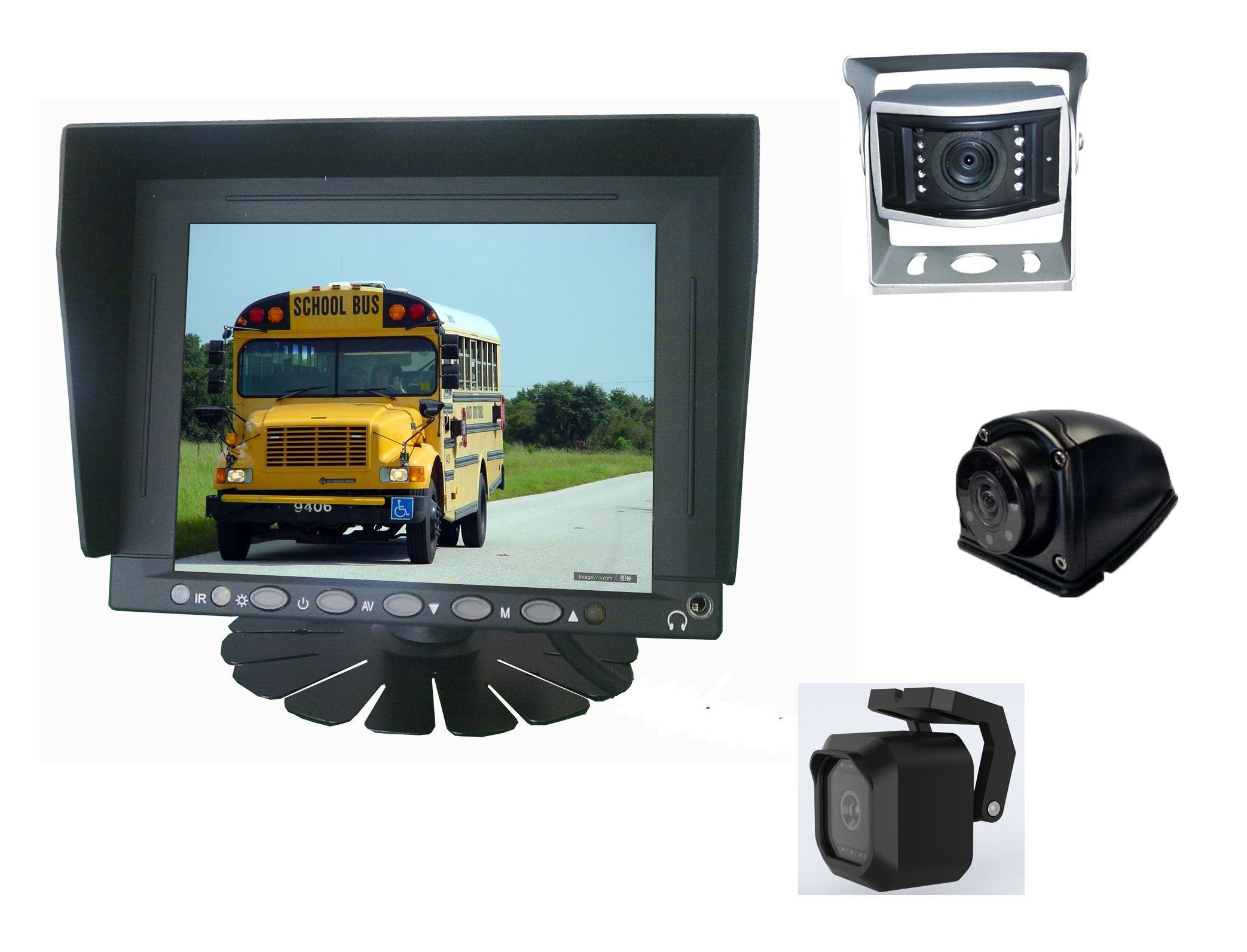 5.6inch LCD Monitor Car Rear View Camera Backup System