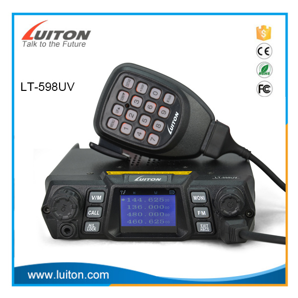 Dual Band Mobile Radio Lt-598UV Car Radio 200channels 75W pictures & photos