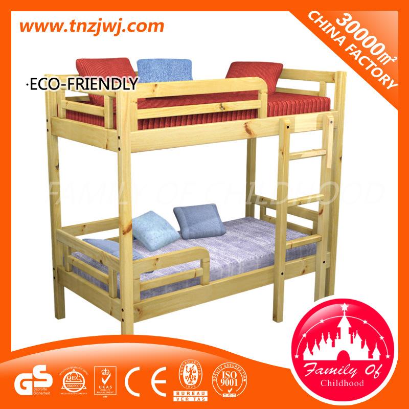 [Hot Item] Safety Wooden Bedroom Furniture Children Stair Bunk Bed