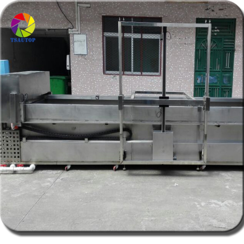 [Hot Item] Tsautop Fully Automatic Hydrographic Equipment Water Transfer  Printing Machine Hydro Dipping Tank