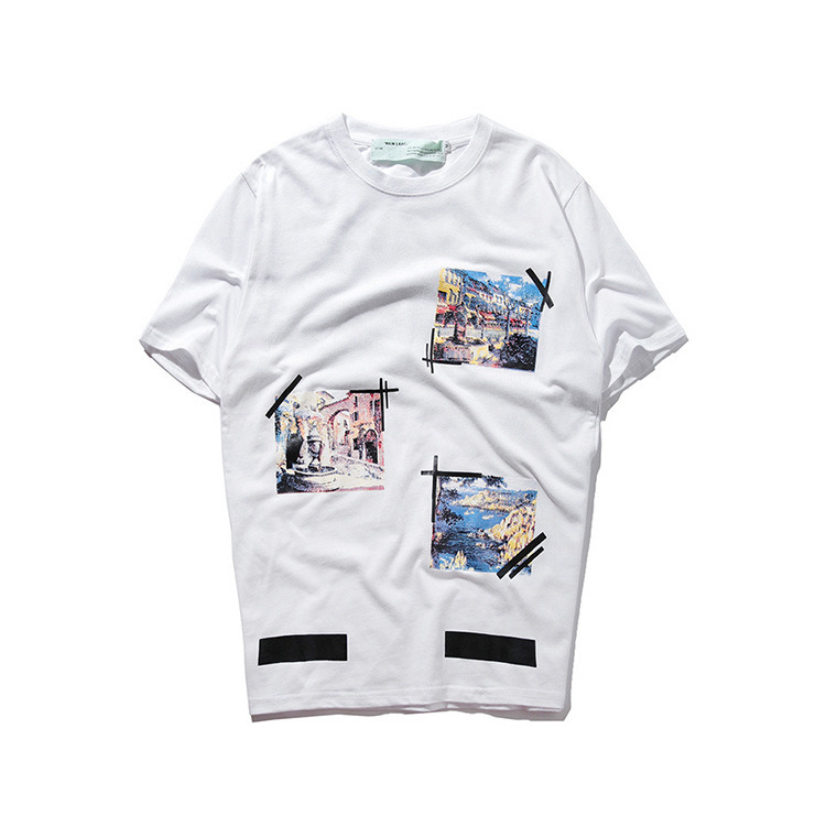 2b5d9cd1969 China High Quality Men 100 Cotton Heat Transfer Printing T-Shirt ...