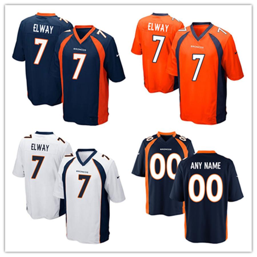 2e5340c3 [Hot Item] Men Women Youth Broncos Jerseys 7 John Elway Football Jerseys