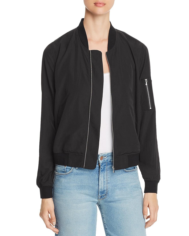 [Hot Item] Custom High Quality 100% Polyester Winter Bomber Jacket Women  Wholesale