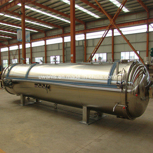 China Industrial Autoclave Horizontal Spice Steam Pressure Vessel ...