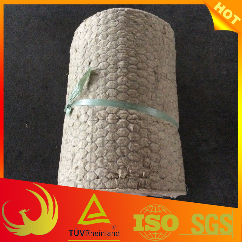 Mineral Wool Insulation Material with Chicken Wire Mesh pictures & photos