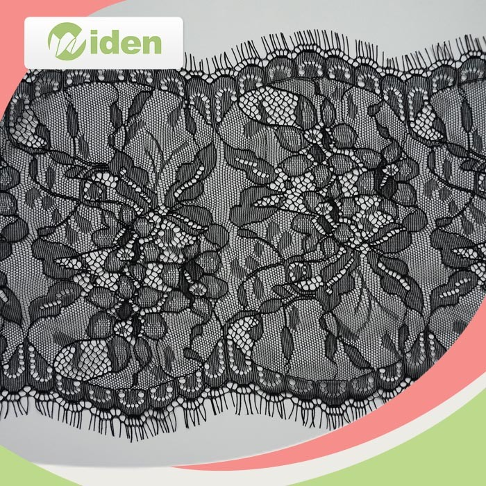 19cm Super Quality Nylon Swiss Voile Eyelash Lace